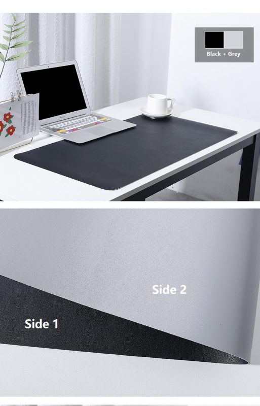 Amazon.com : Large Office Leather Mouse Pad, Double-Sided
